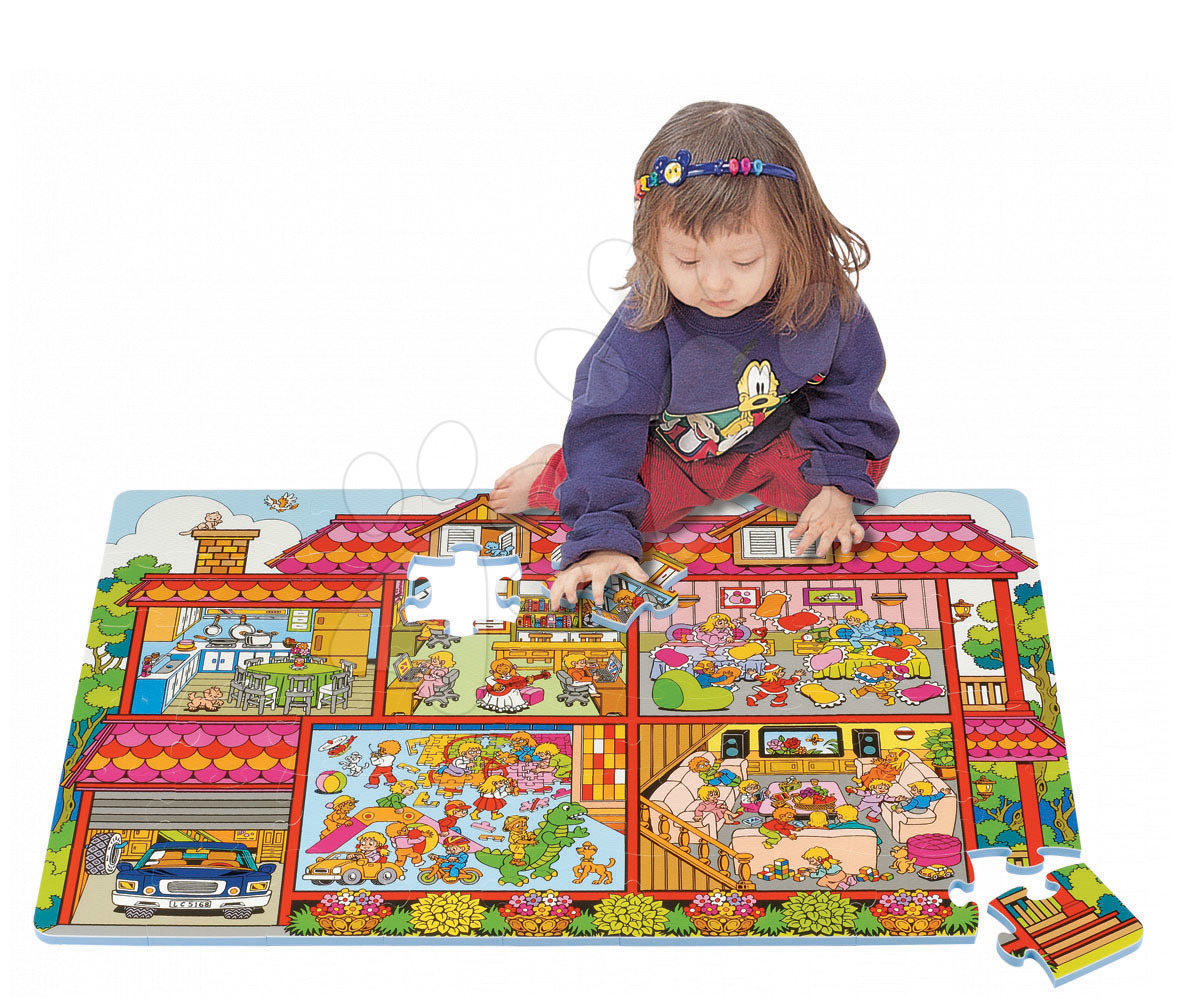 Staré položky - Puzzle Sweet Family - Rodinný dům Lee Chyun 60*90*1,2 cm