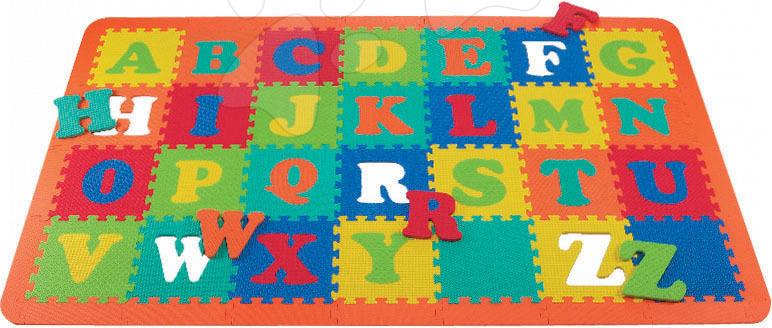 Staré položky - Puzzle 26 dielov, ABC + 2KS - 30*30*1,3 cm štvorce + okraje
