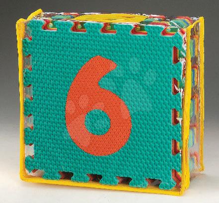 Staré položky - Penové puzzle čísla Numbers Pop OutLee 6 dielov