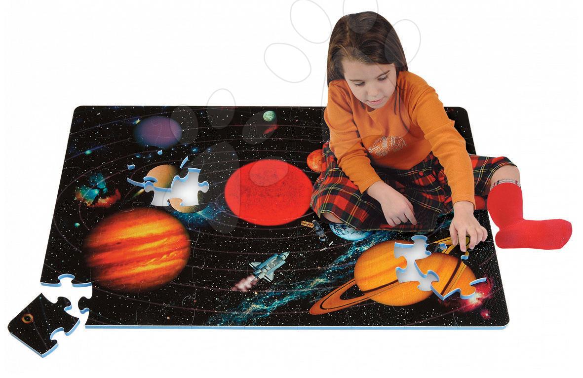 Staré položky - Pěnové puzzle Solar System Lee Chyun 54 dílů