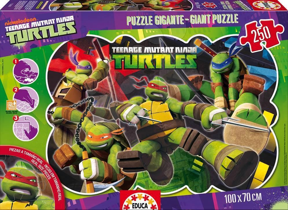Puzzle Giant Ninja želvy Educa 250 dílů od 8 let