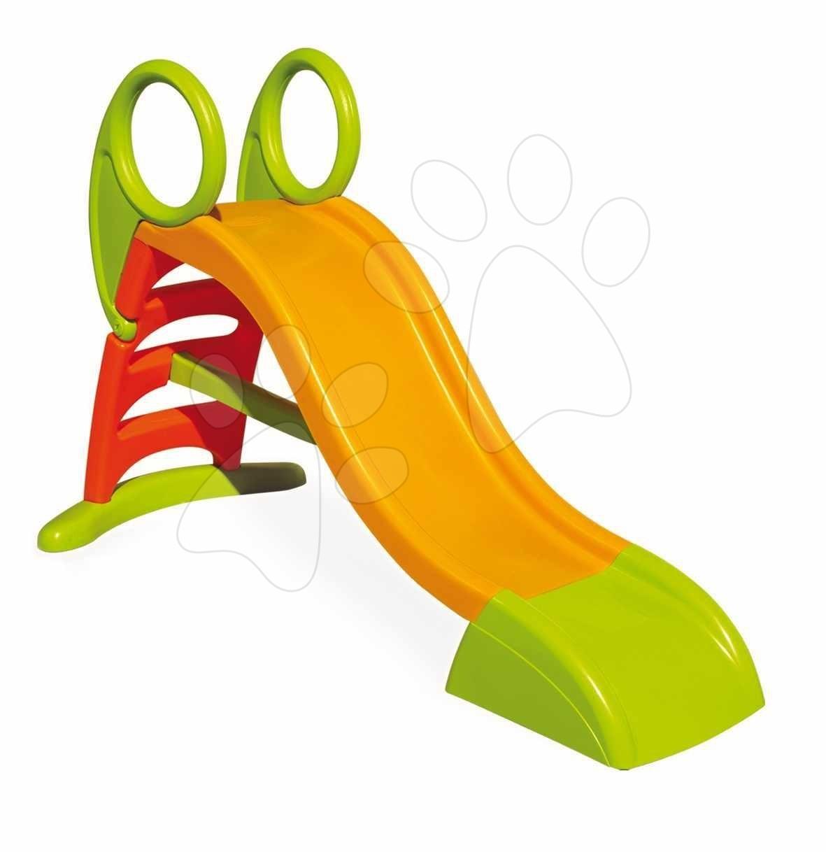 Skluzavky pro děti - Skluzavka Toboggan KS Smoby 150 cm délka 1,5 m žluto-červená od 24 měsíců