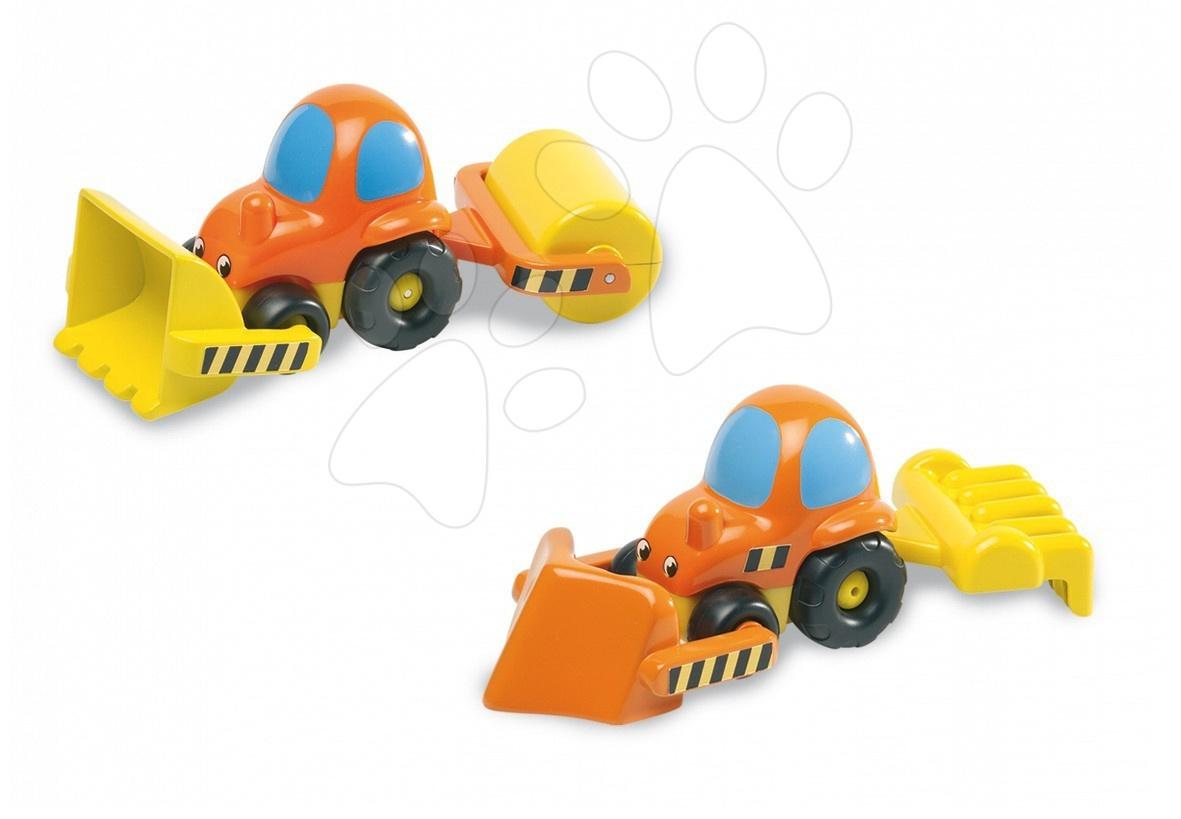 Traktor Vroom Planet Smoby a 4 doplňky od 12 měsíců