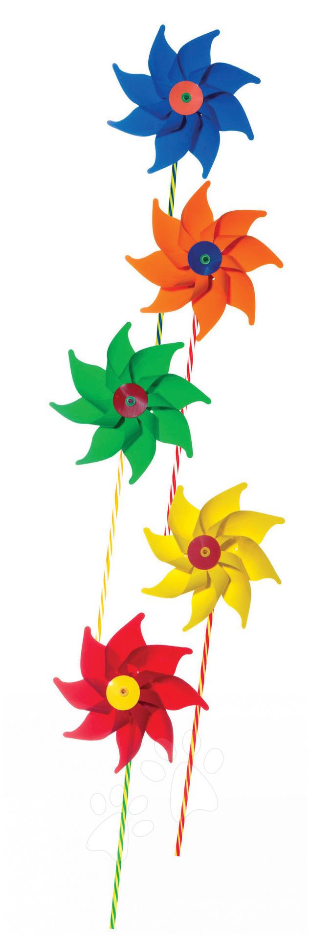 Vrtulka Giobas květiny barevné