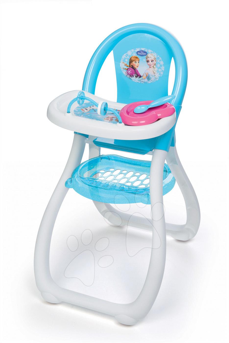 Jídelní židle Frozen Smoby pro 42 cm panenku s doplňky od 3 let