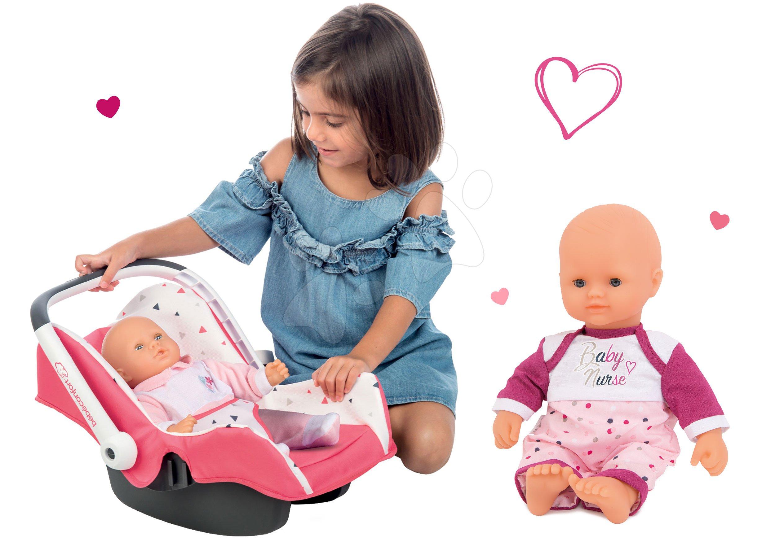 Set autosedačka Trio Pastel Maxi Cosi&Quinny Smoby a panenka Violette Baby Nurse