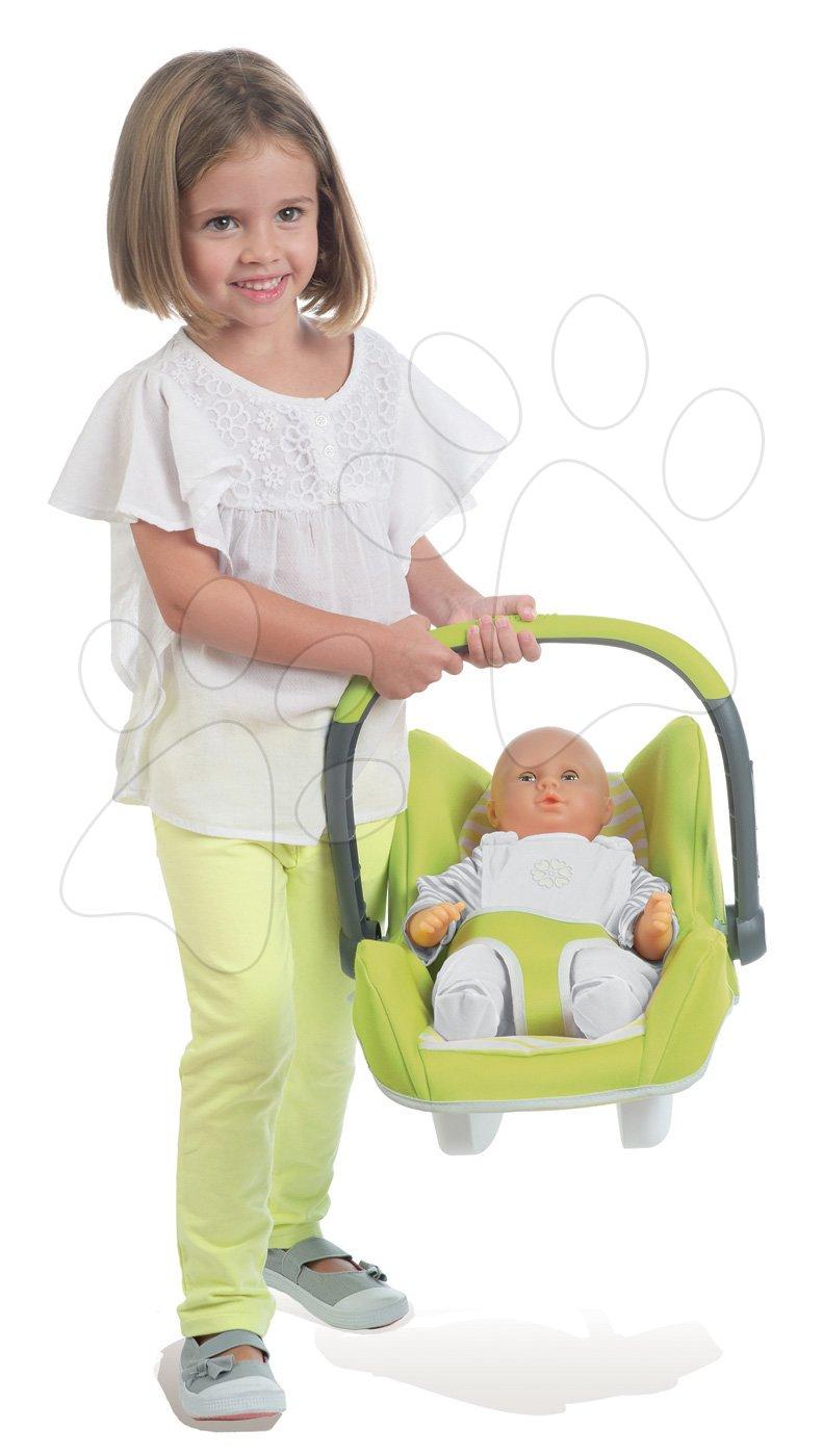 Smoby autosedačka pre bábiku Maxi Cosi & Quinny 240294 zeleno-šedá