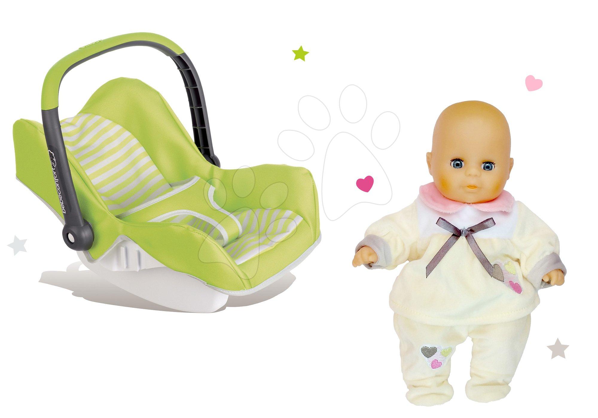 Smoby set autosedačka Maxi Cosi&Quinny a bábika ako darček 240294-1