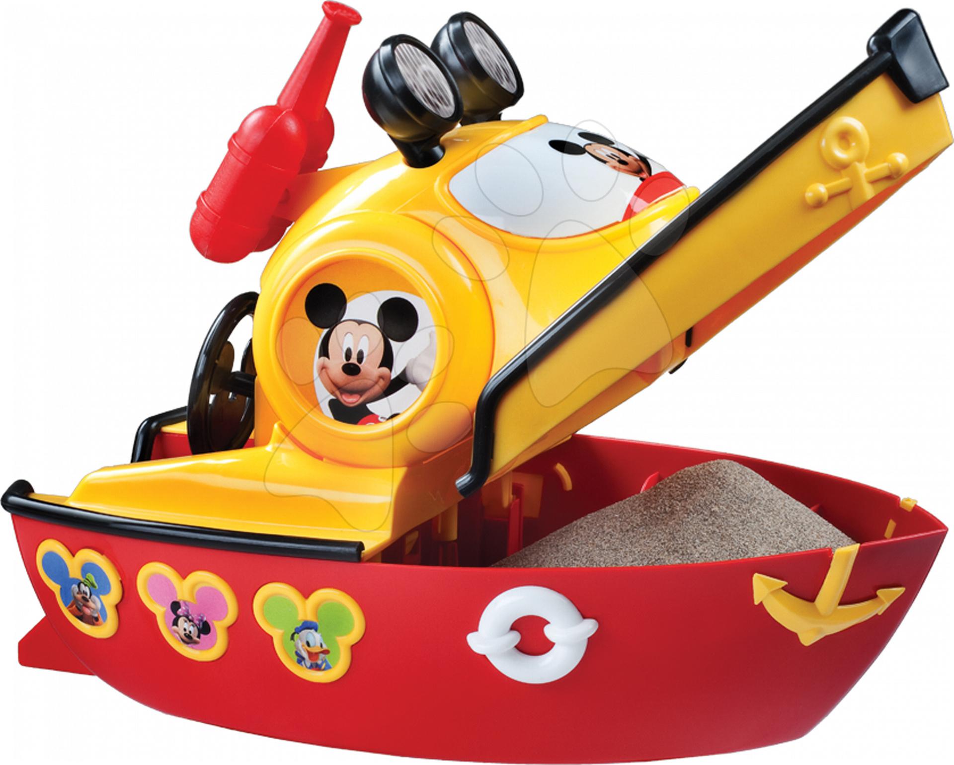 Plastová loďka Mickey Mouse Mondo (dĺžka 35 cm) od 24 mes
