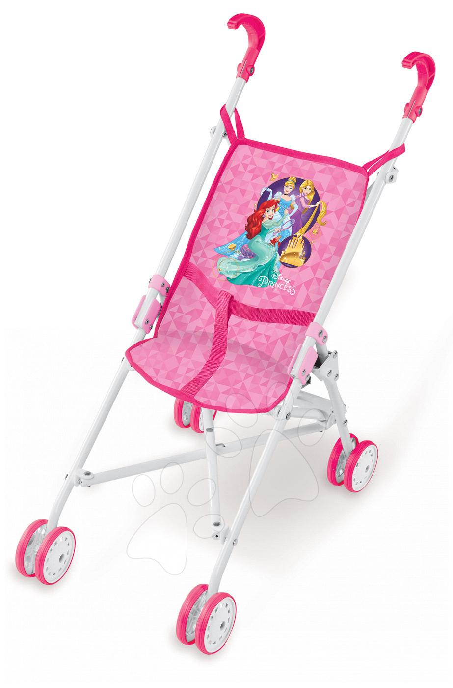 25aef72e057aa Kočík pre bábiku golfky Disney Princezné Smoby (57 cm rúčka) ružový od 24  mes