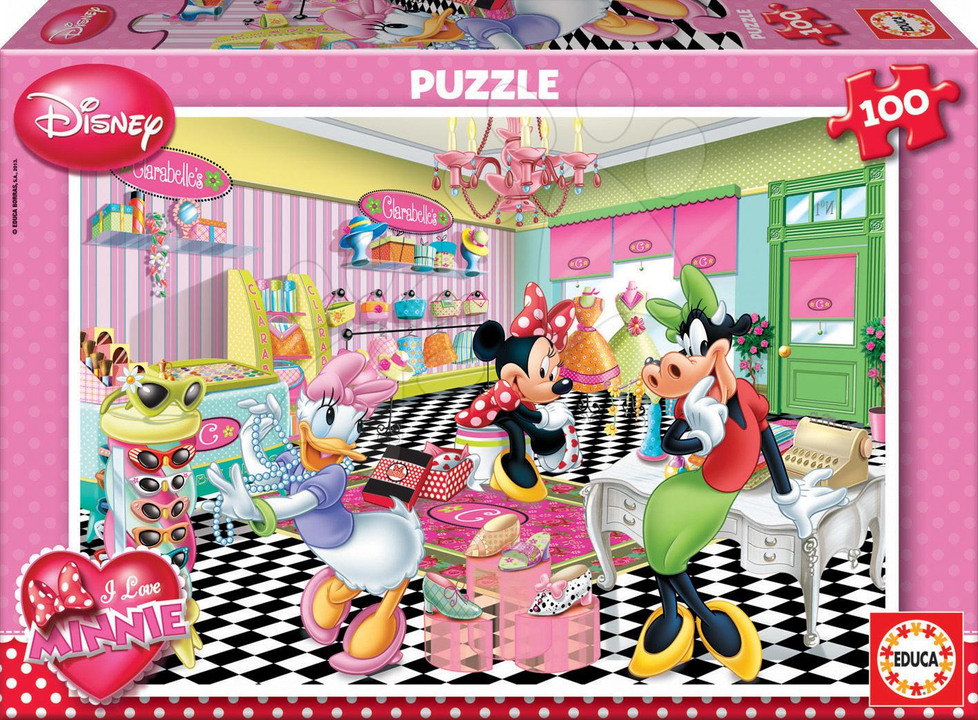 Puzzle Walt Disney Minnie Mouse Educa 100 dielov od 5 rokov