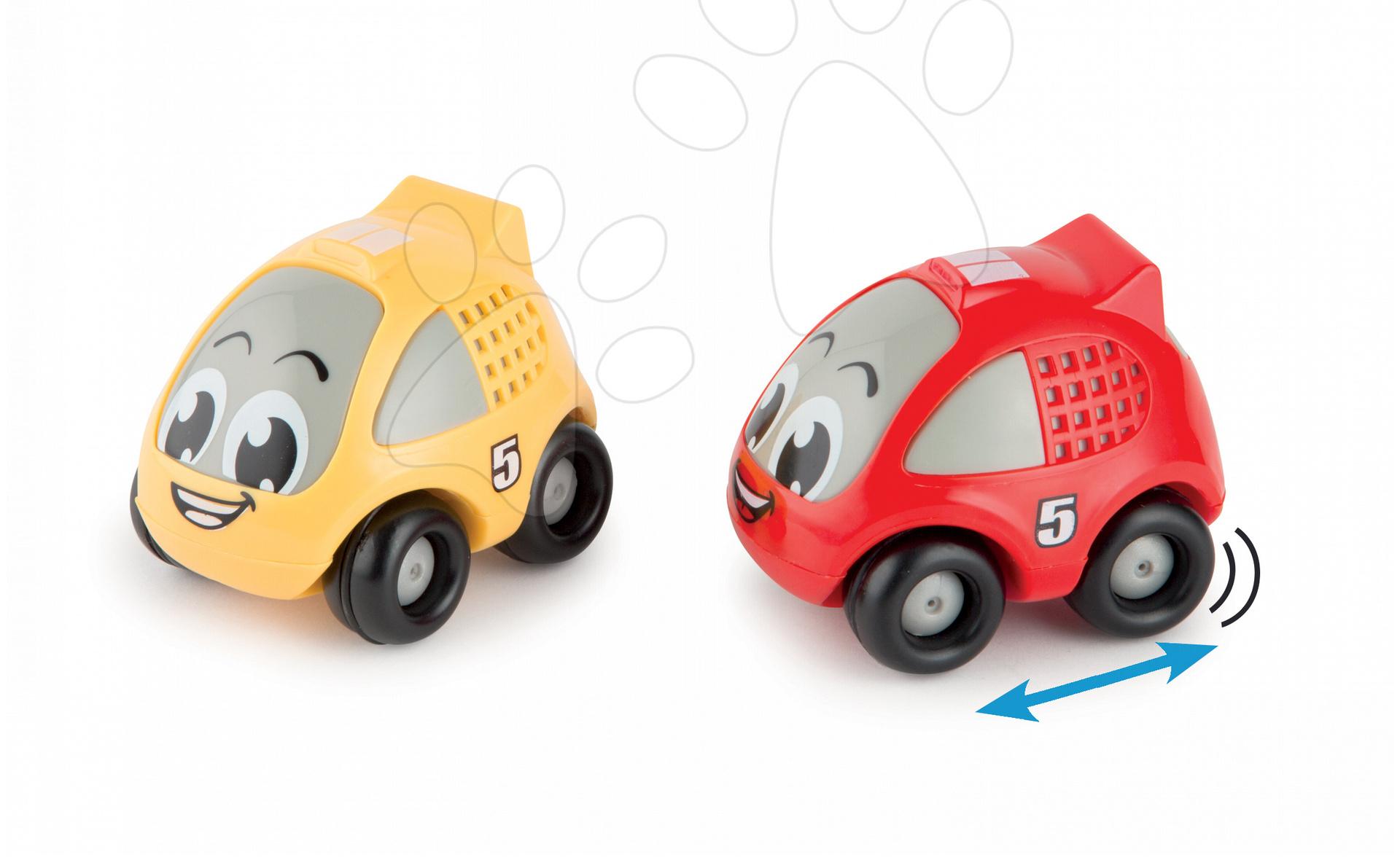 Autíčko pre deti so zotrvačníkom Smoby 2 farby