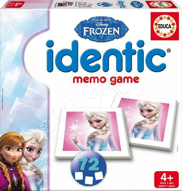 Pohádkové pexeso Identica Frozen Educa 72 ks od 4 let