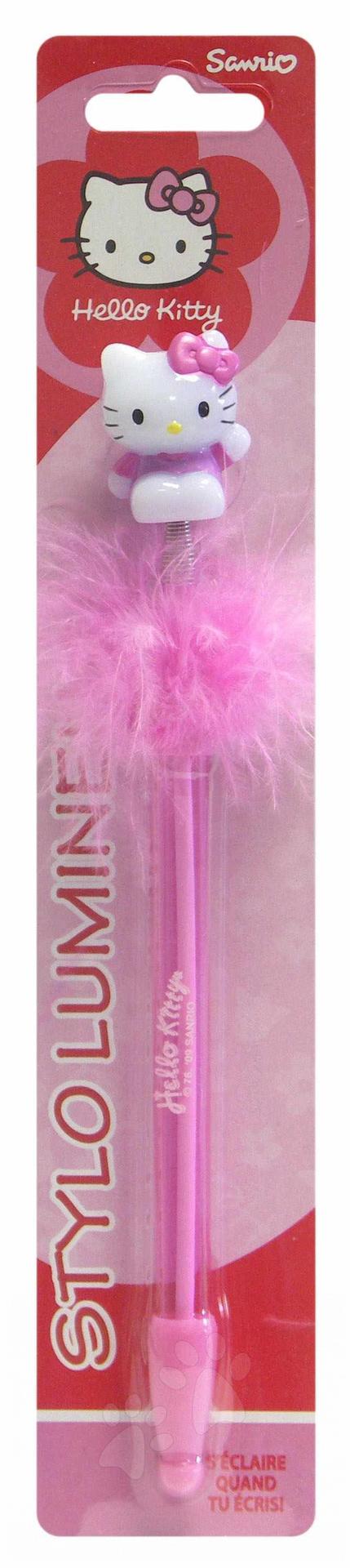 Svítící pero Hello Kitty Stylo Lumineux LPS Hasbro růžové