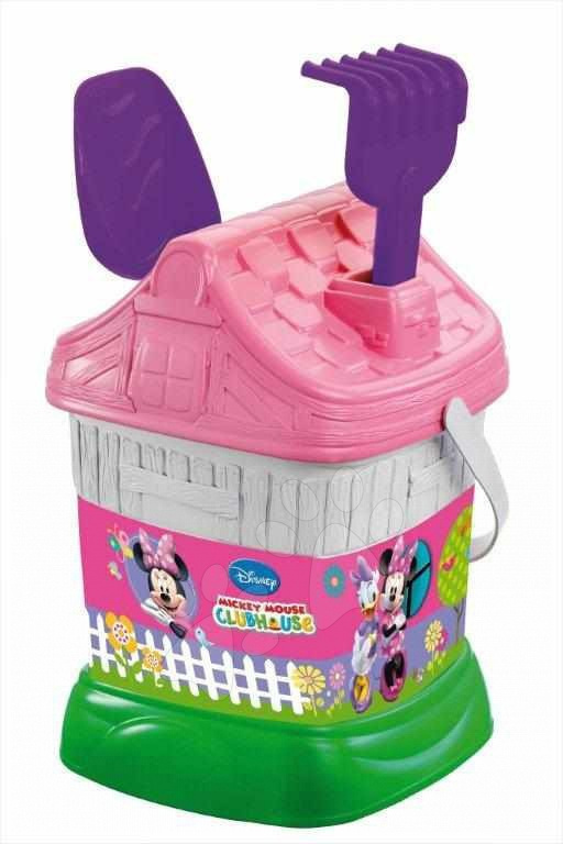 Staré položky - Vedro domček Minnie Mouse set Mondo