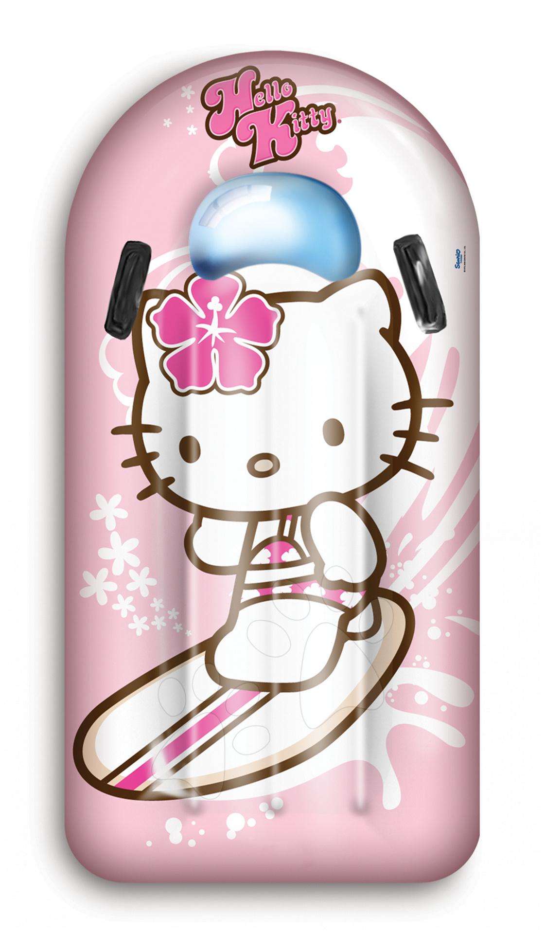 Saltele din cauciuc - Saltea gonflabilă de surf Hello Kitty Mondo Surf Rider 110 cm