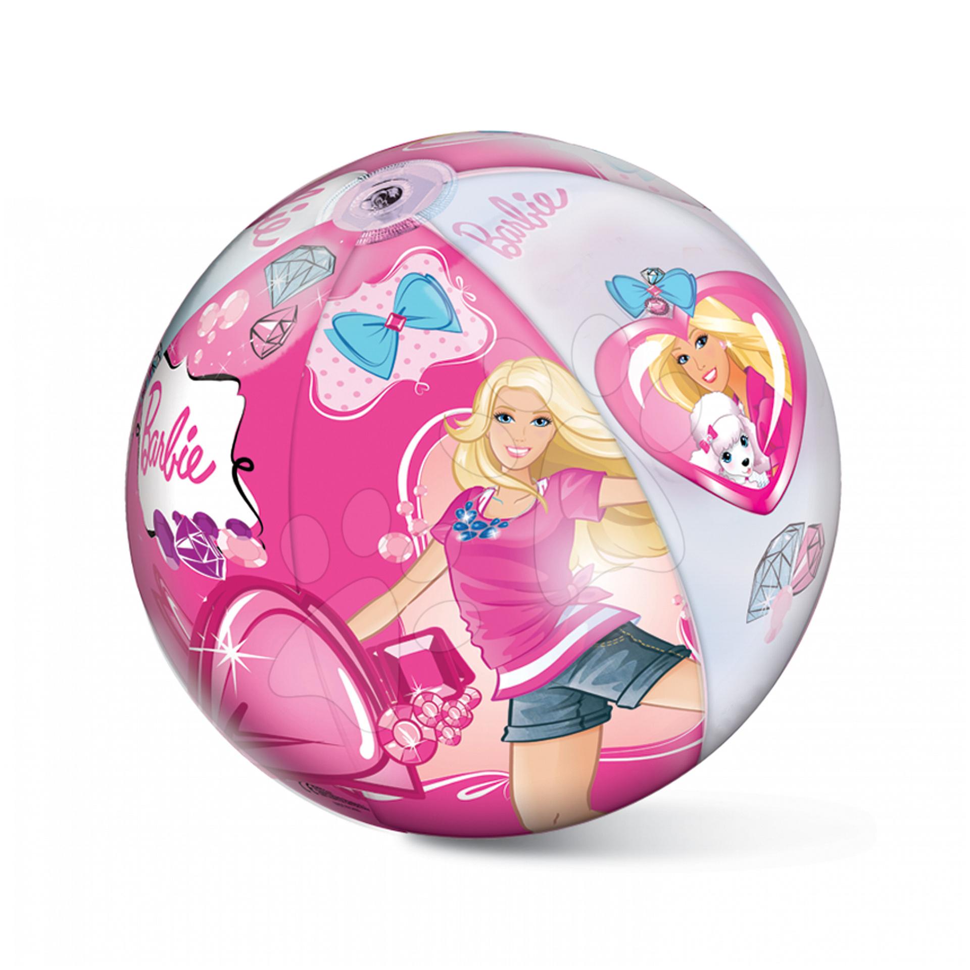 Nafukovací míče k vodě - Nafukovací míč Barbie Mondo 50 cm
