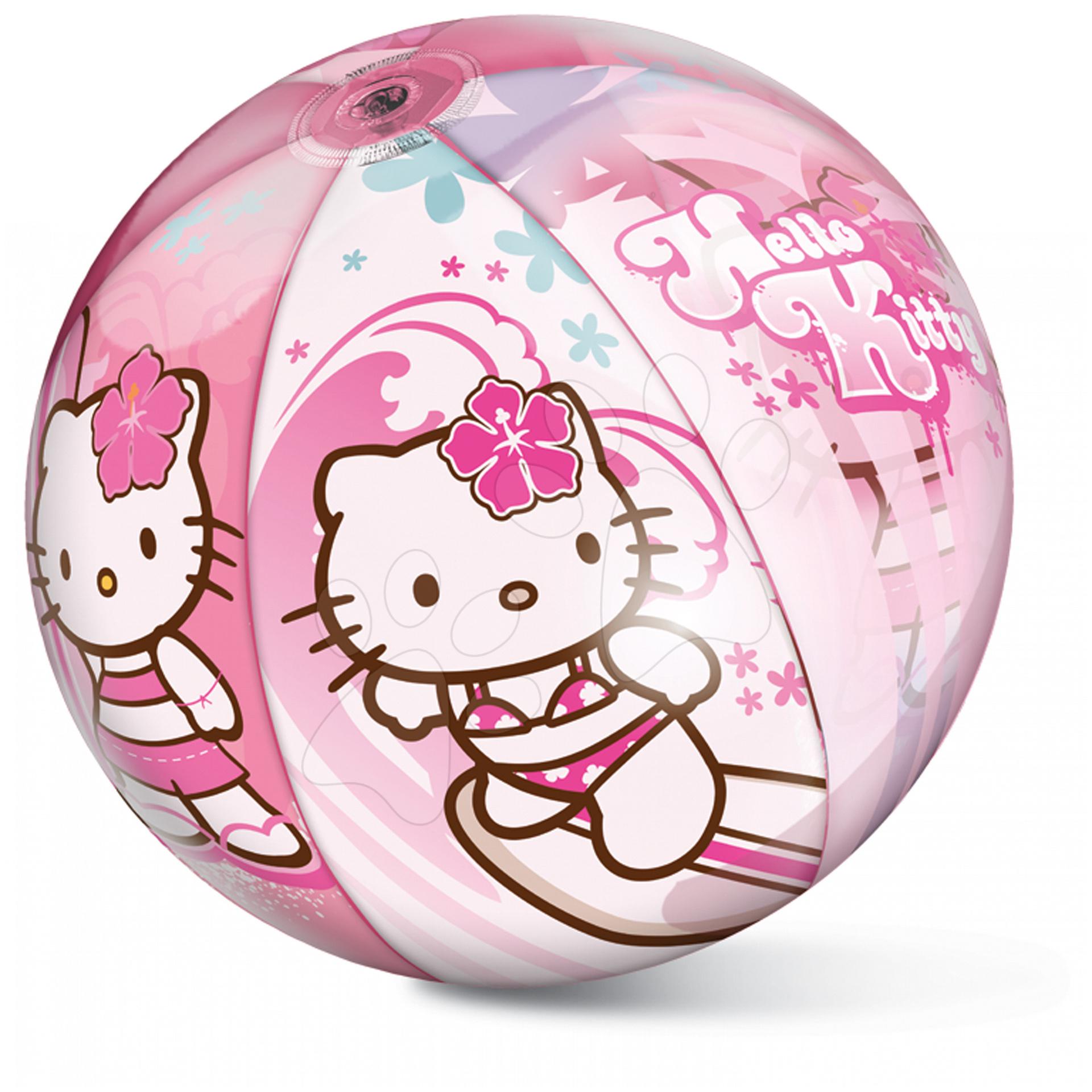Napihljive žoge za v vodo - Napihljiva žoga Hello Kitty Mondo 50 cm