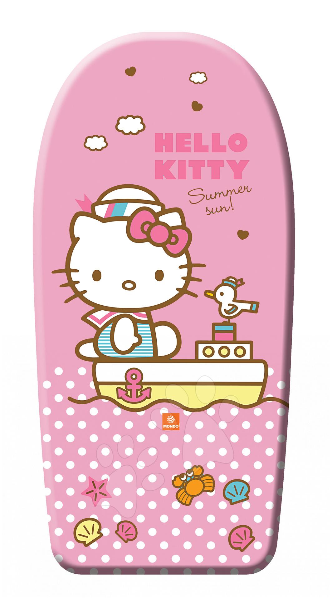 Deska na plavání pěnová Mondo Hello Kitty 84 cm