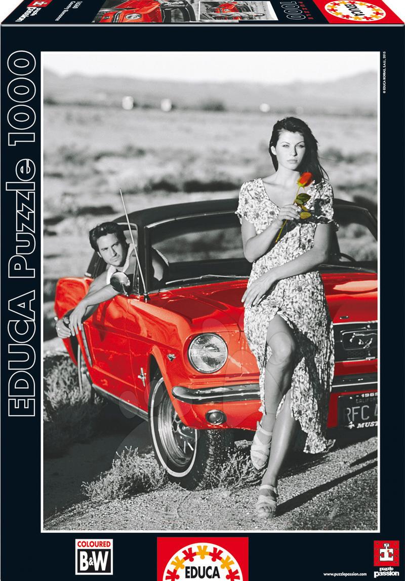 Puzzle 1000 dielne - Puzzle Country Romance Educa 1000 dielov od 12 rokov