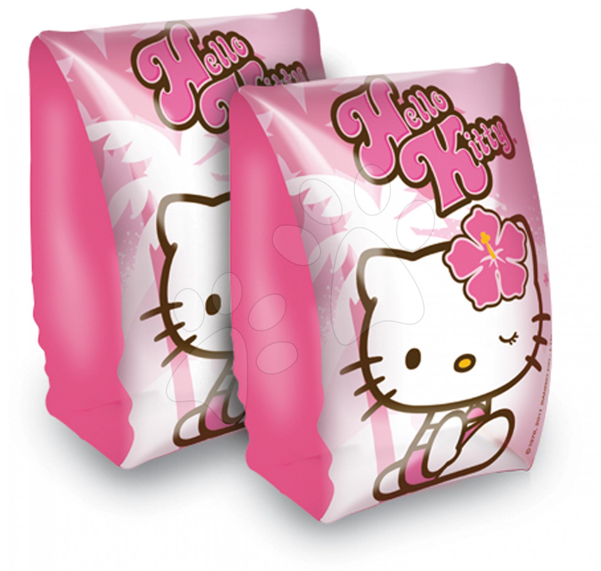 Nafukovacie rukávniky Hello Kitty Mondo od 3 rokov