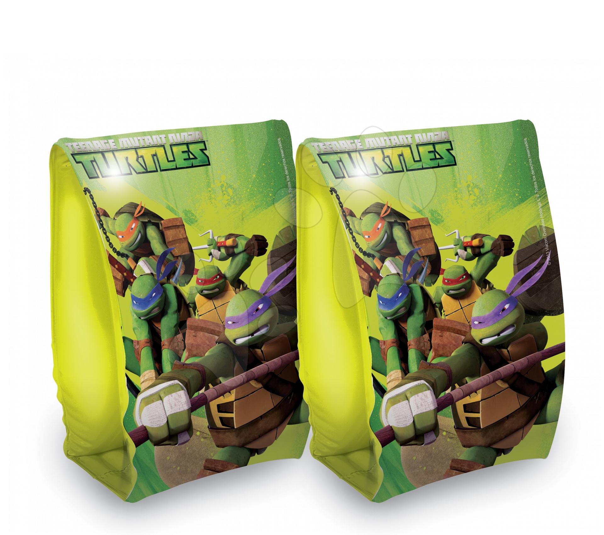 Nafukovací rukávky Teenage Mutant Ninja Želvy Mondo zelené od 3 let