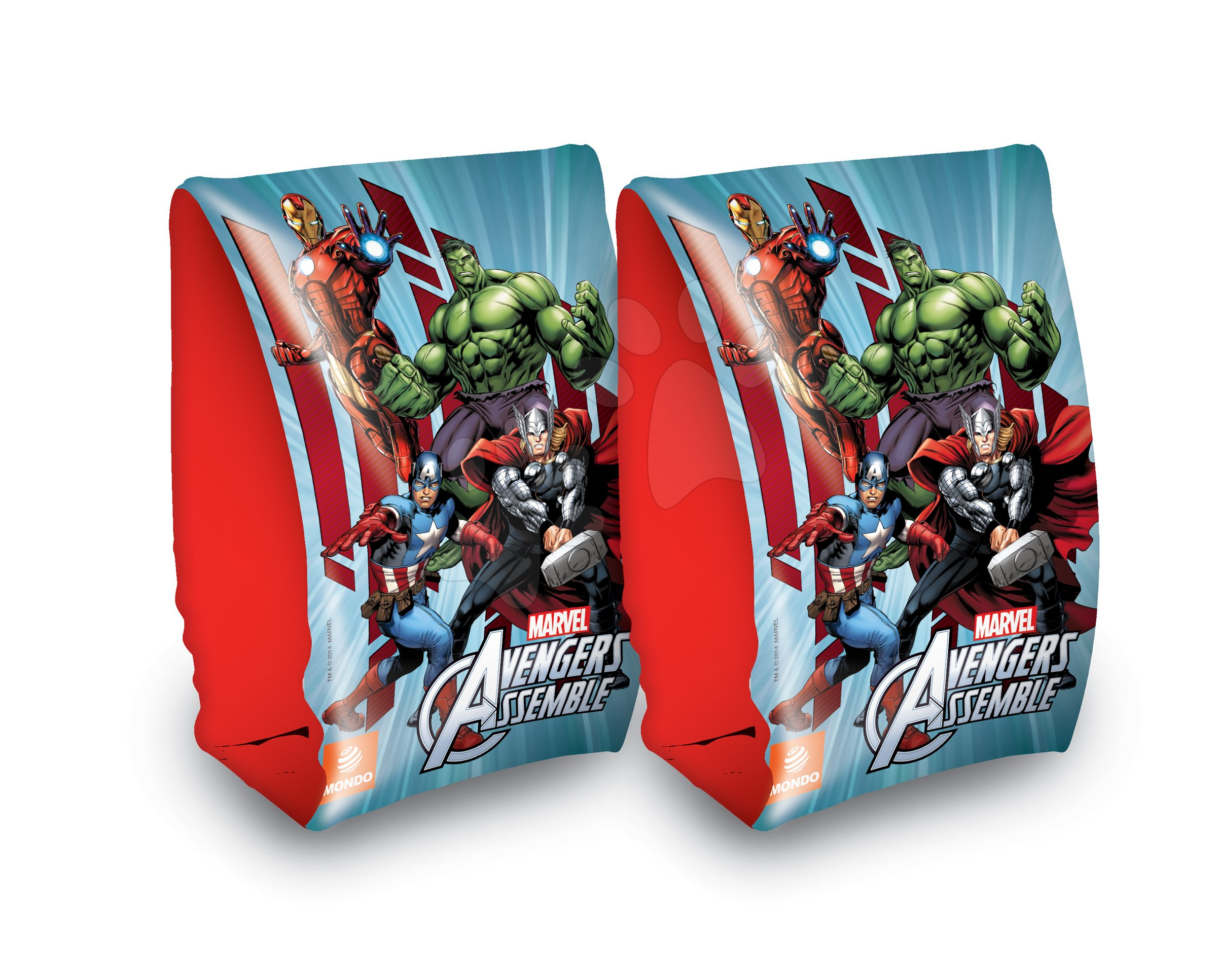 Nafukovací rukávky na plavání Avengers Mondo od 3-6 let