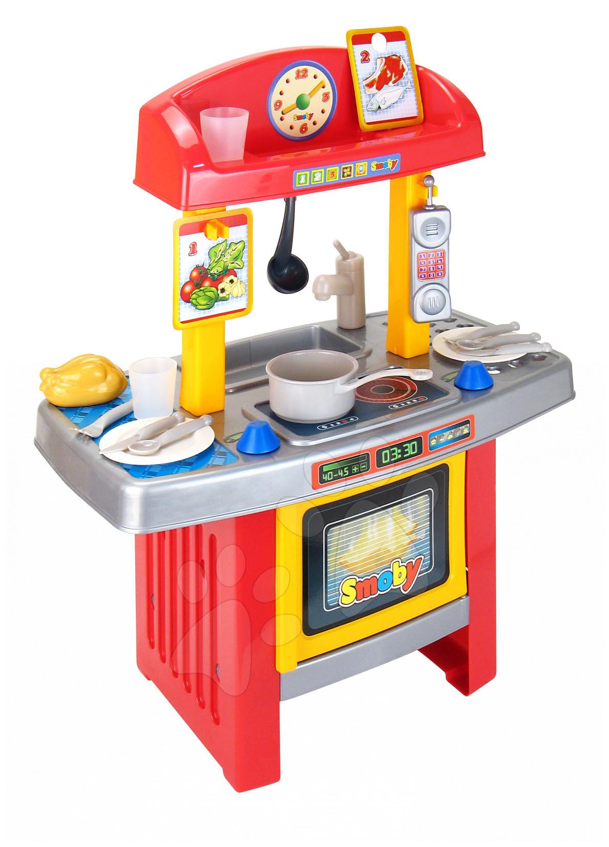 Dětská kuchyňka moje první Smoby s doplnkami