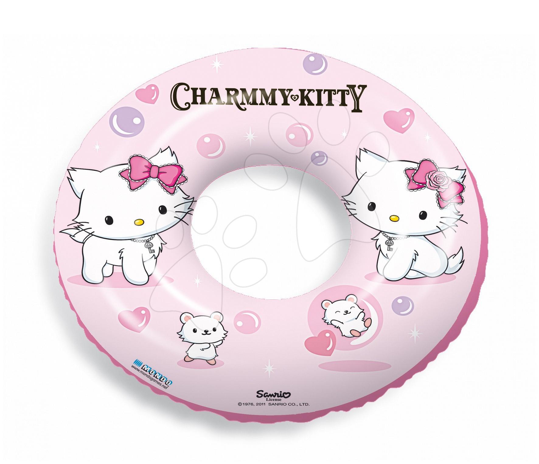 Nafukovací kolo na plavání Charmmy Kitty Mondo 50 cm od 10 měsíců