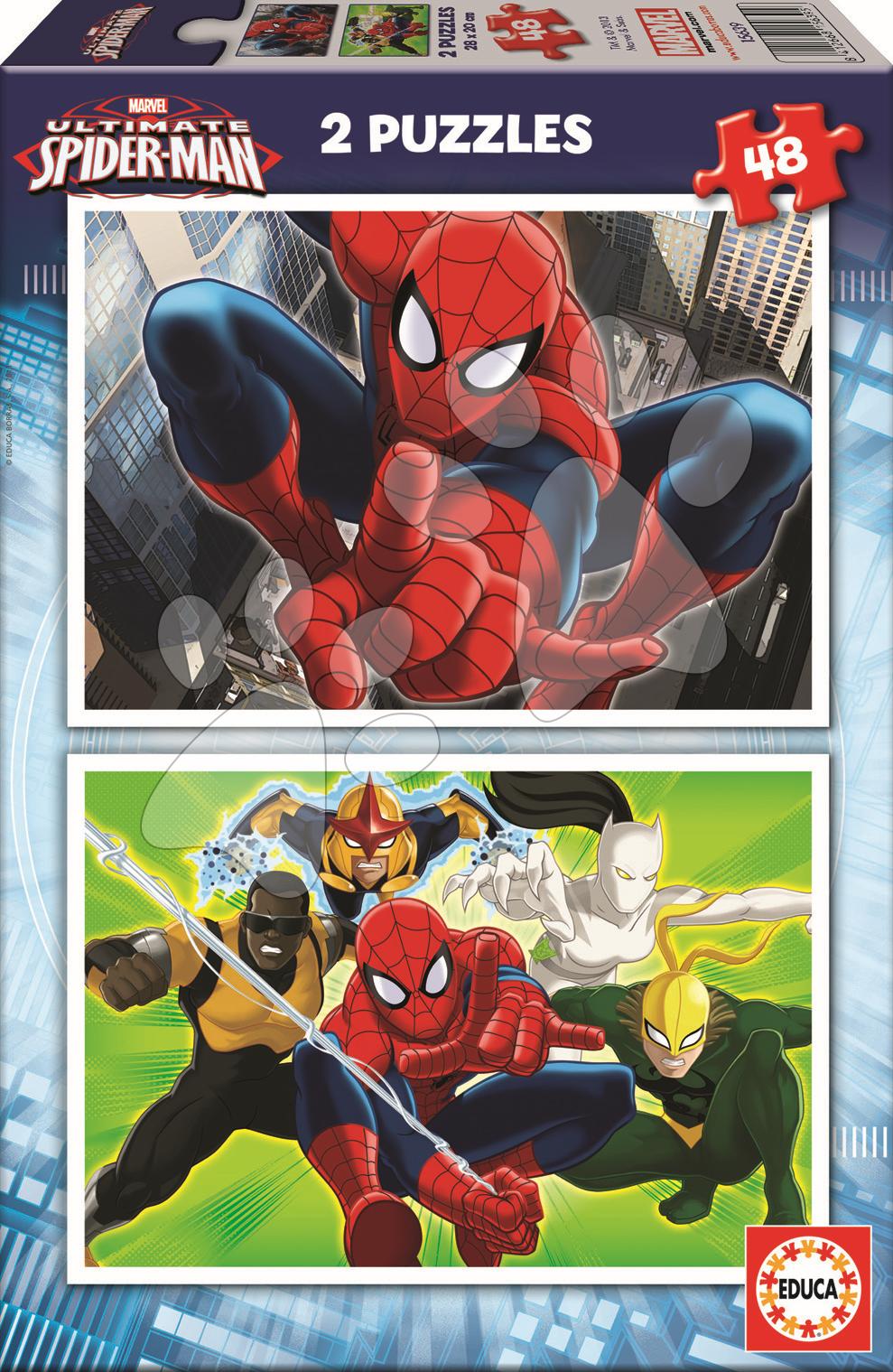 Puzzle Spiderman Educa 2x48 dielov