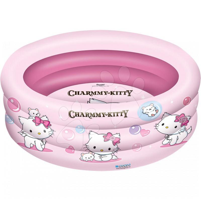 Dětské bazénky - Nafukovací bazén Charmmy Kitty Mondo tříkomorový 150 cm od 10 měsíců