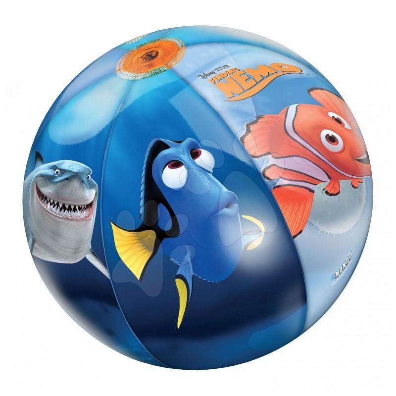 Nafukovací míče k vodě - Nafukovací míč Hledá se Nemo Mondo 50 cm