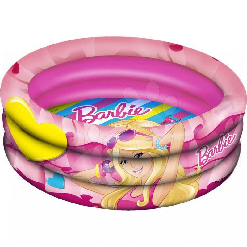 Dětské bazénky - Nafukovací bazén Barbie Mondo tříkomorový 150 cm od 10 měsíců
