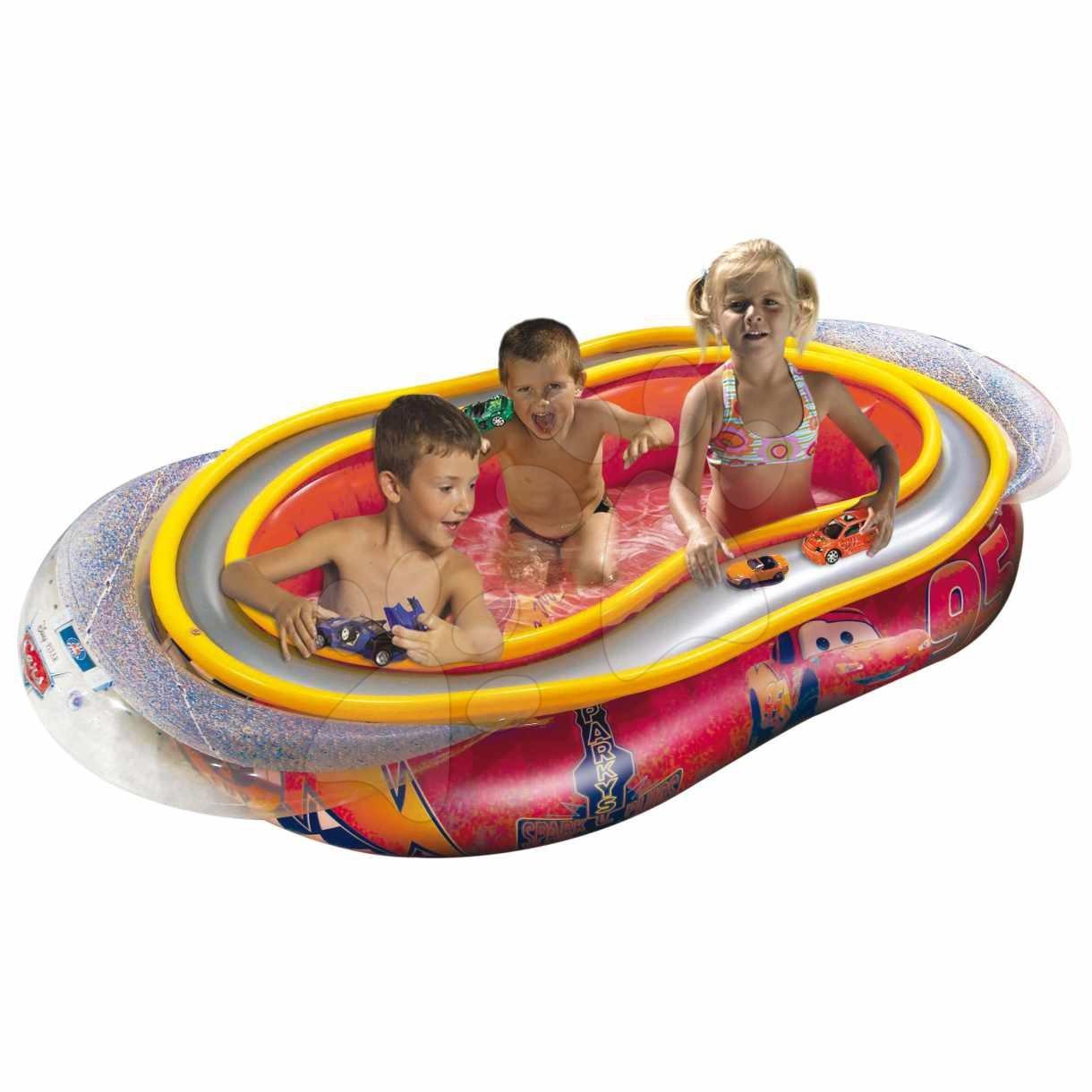 Staré položky - Nafukovací bazén Autá s autodráhou Mondo