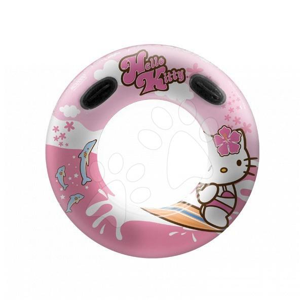 Nafukovací kruhy - Nafukovací maxi kolo na plavání Hello Kitty Mondo 100 cm