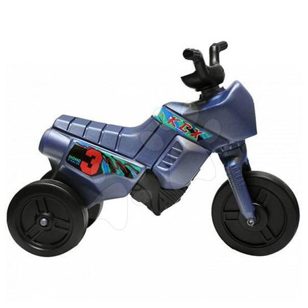 Motorky - Odrážadlo Enduro oceľovomodré
