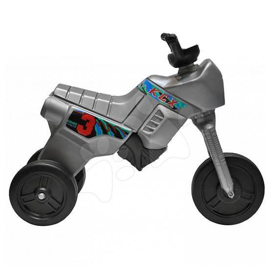 Motorky - Odrážedlo Enduro Maxi stříbrné