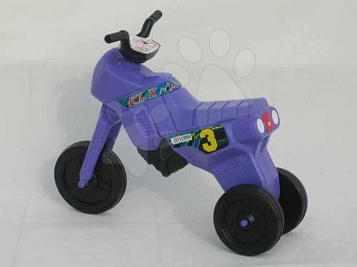 Motorky - Veľké odrážadlo Enduro fialové od 24 mes