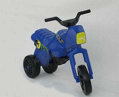 Motorky - Velké odrážedlo Enduro modré od 24 měsíců