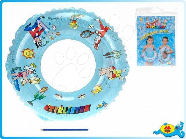 Nafukovací kruhy - Nafukovací plavací kruh Čtyřlístek Mikro 50 cm
