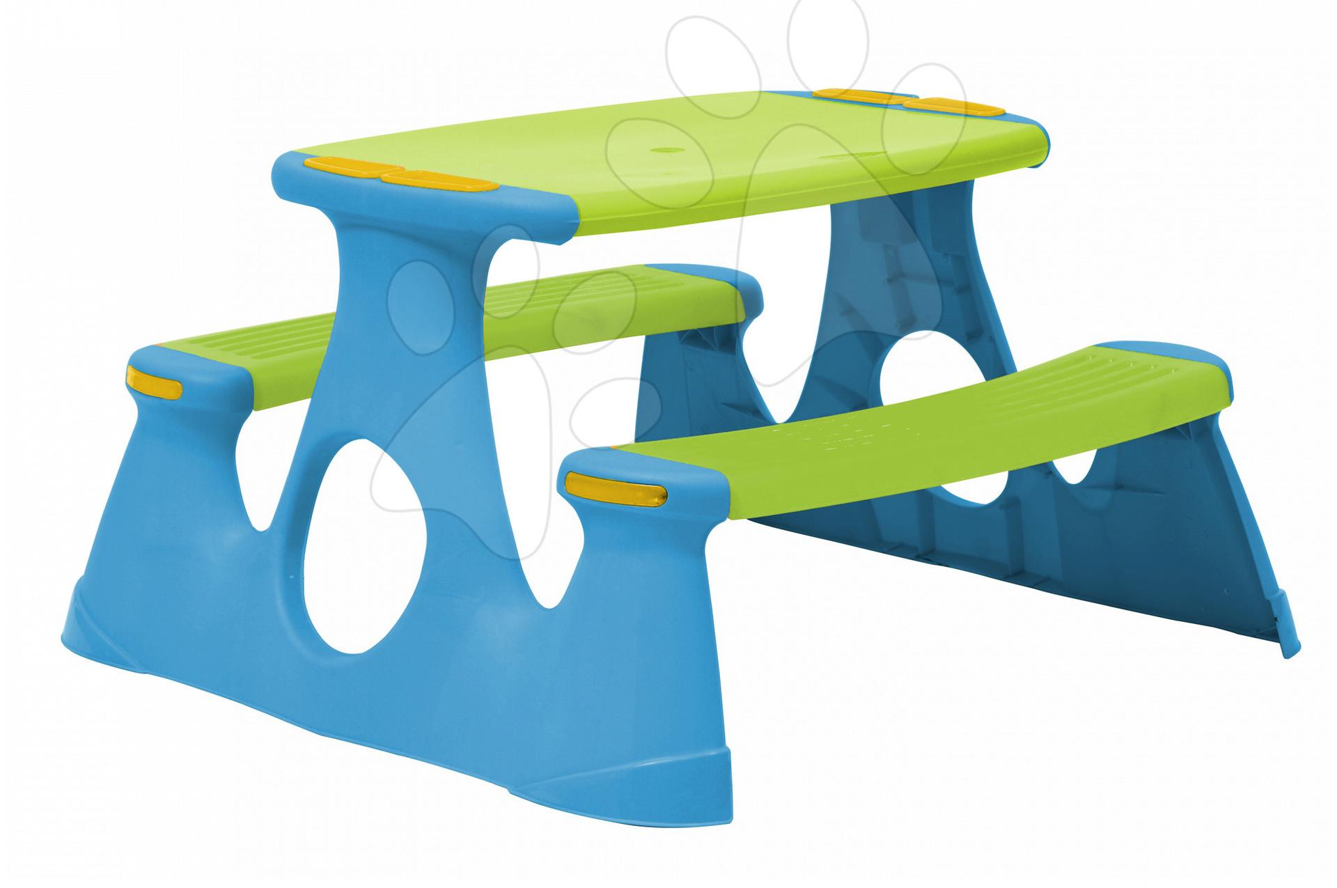 Detský záhradný nábytok - Stôl na hranie Starplast s dvoma lavicami