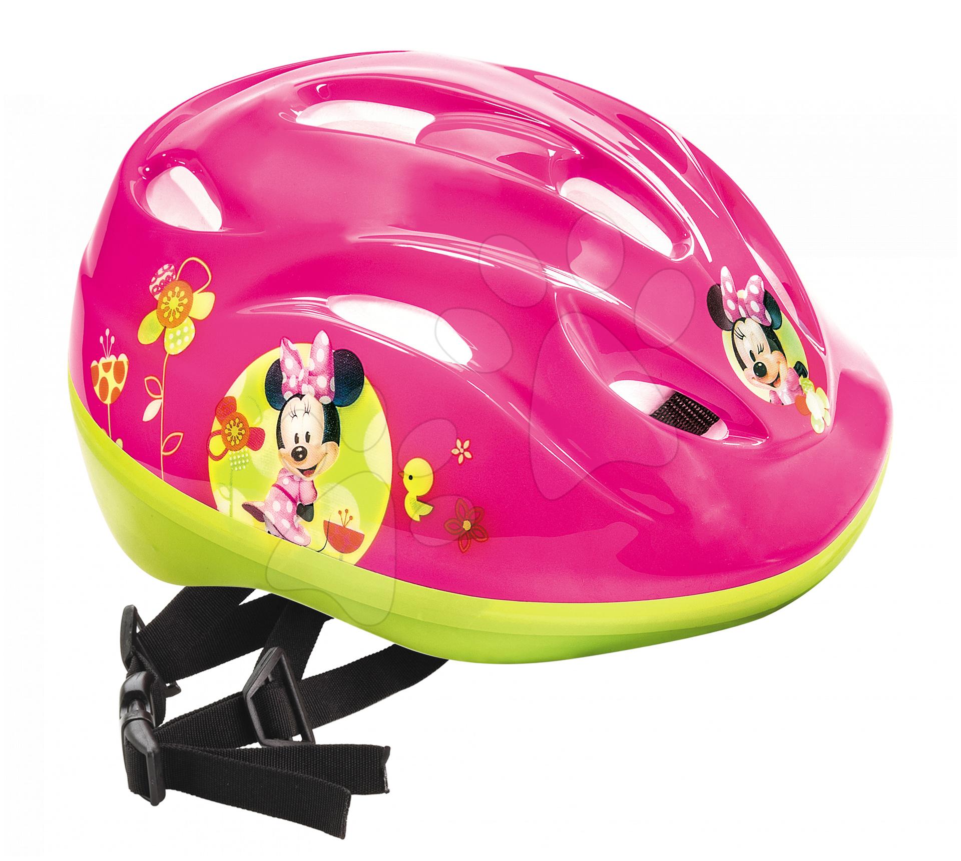 Cyklistická přilba Minnie Bow-tique Mondo velikost 52-56 růžovo-zelená