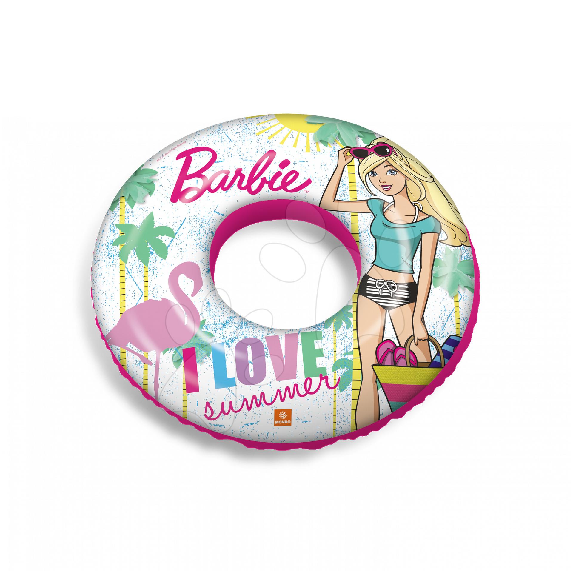 Nafukovacie kolesá - Nafukovacie koleso do vody Barbie Mondo 50 cm od 10 mes