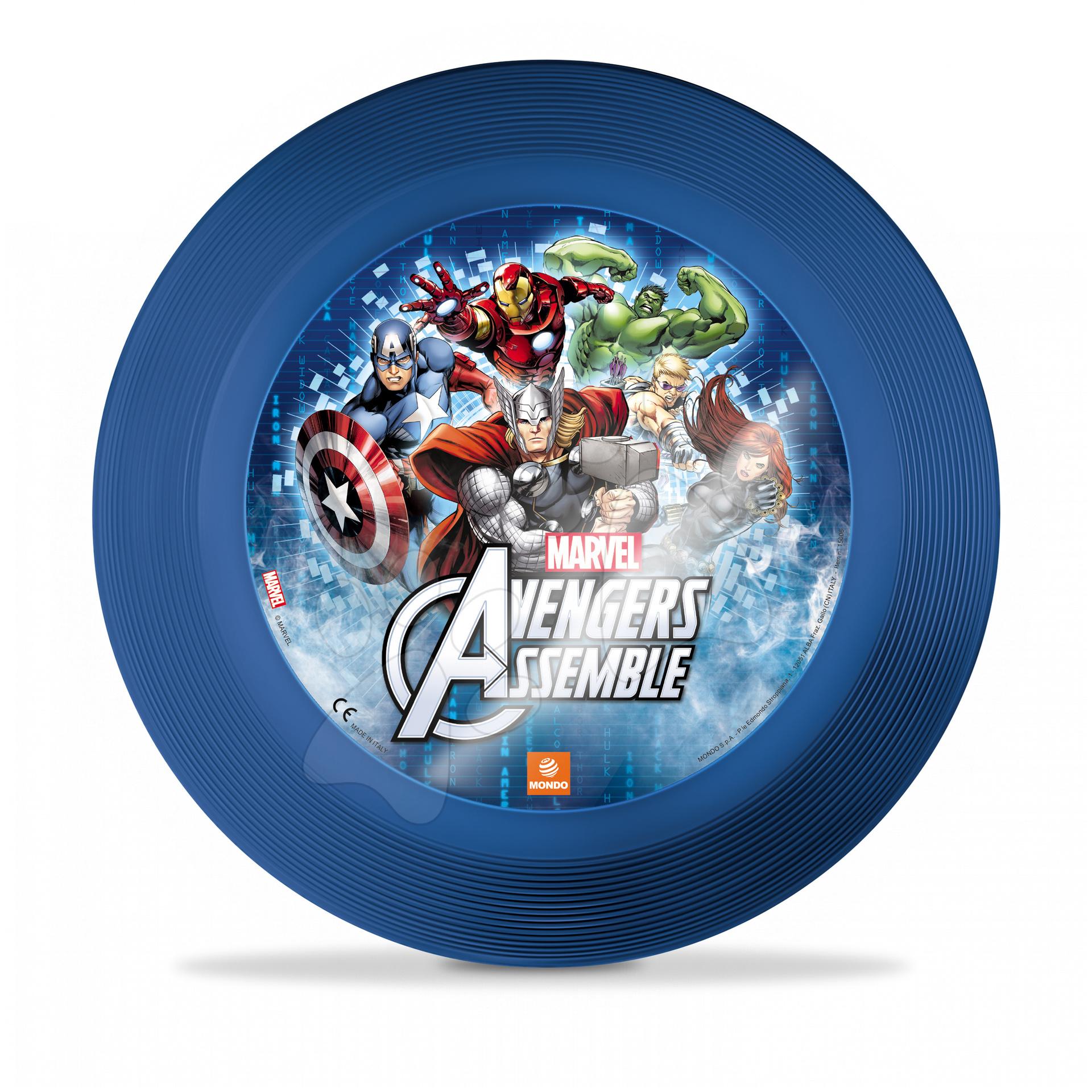 Lietajúce taniere - Lietajúci tanier Avengers Mondo priemer 23 cm