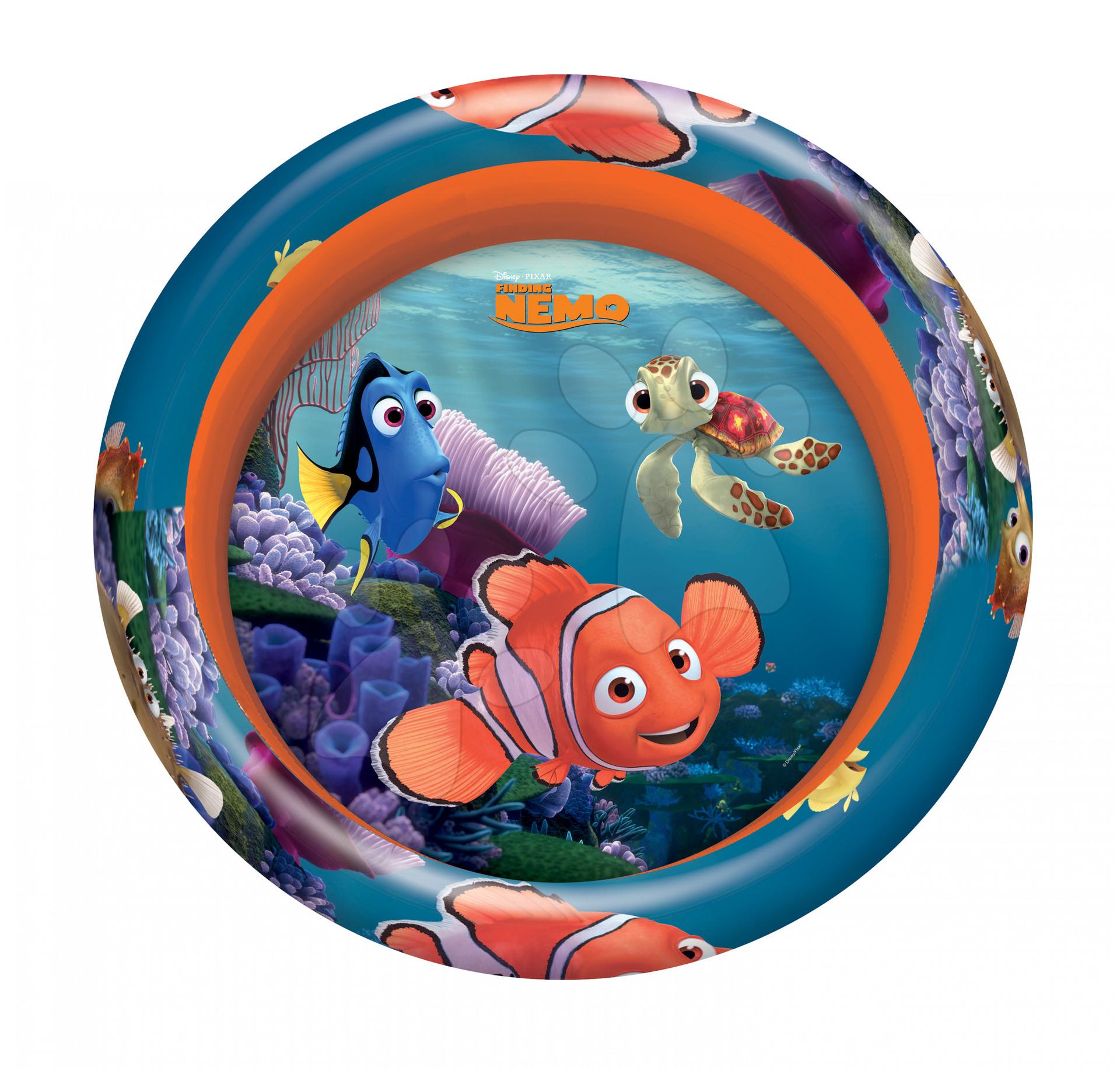 Staré položky - Nafukovací bazén Hledá se Nemo Mondo tříkomorový 100 cm od 3 let