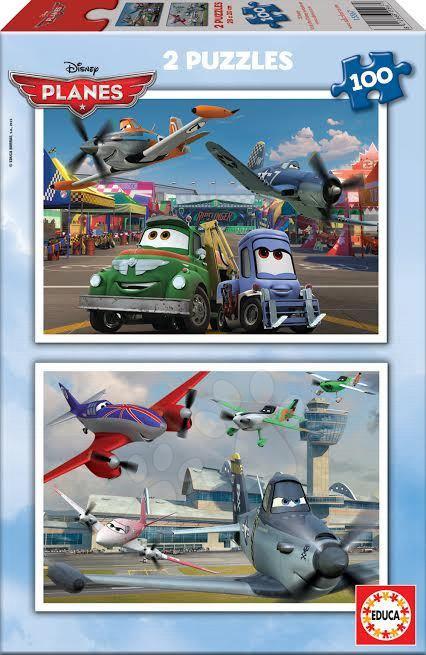 Puzzle Disney Lietadlá Educa 2x 100 dielov od 5 rokov