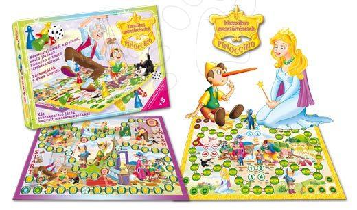 Joc de societate clasic Pinocchio Dohány de la 5 ani