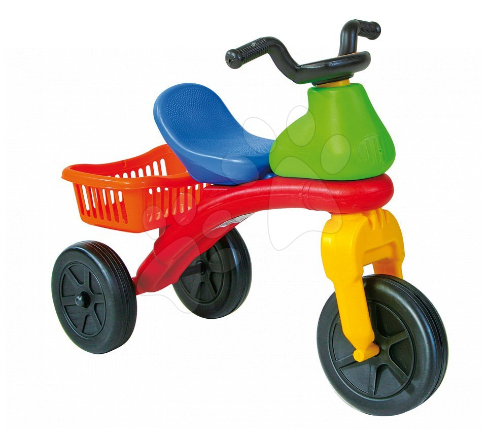 Motorky - Odrážedlo Trappola 6 Motor Dohány s košíkem od 24 měsíců