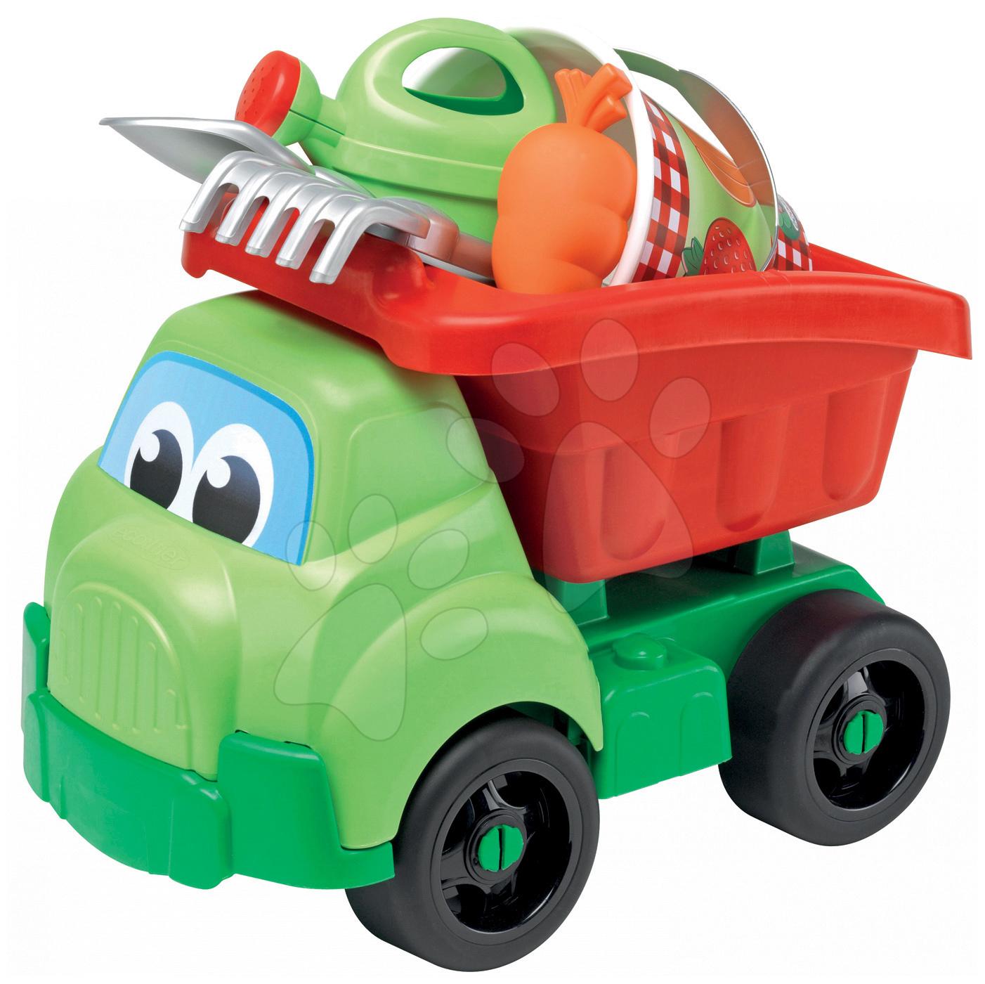Auta do písku - Vyklápěč Picnic Écoiffier s kbelík setem (délka 41 cm) od 18 měsíců