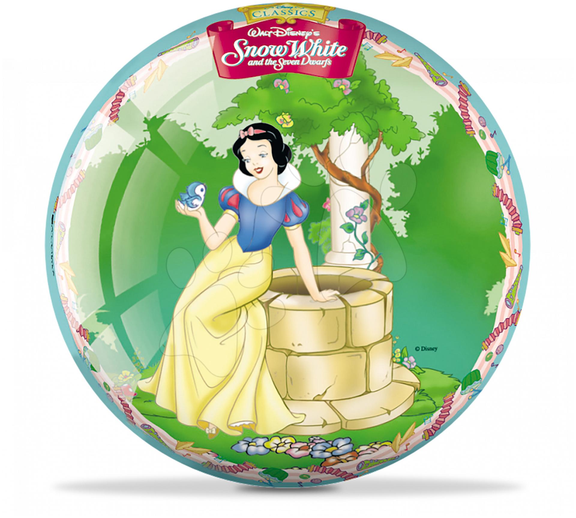 Pohádkový míč Sněhurka Mondo pryžový 23 cm